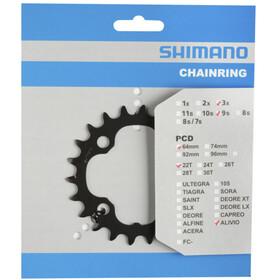 Shimano FC-M4000/M4050 Corona dentata 9 velocità, grigio